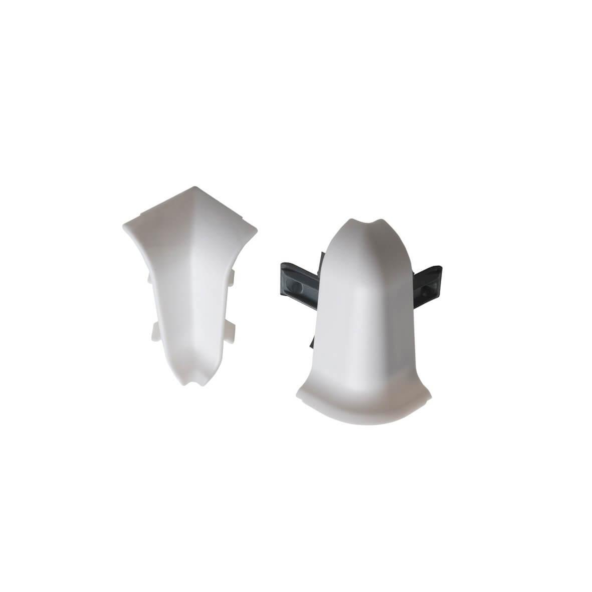 Kit d 39 angle blanc biafa sptd - Couper plinthe angle sortant ...